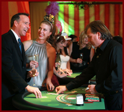 Casino Parties on the Monterey Peninsula